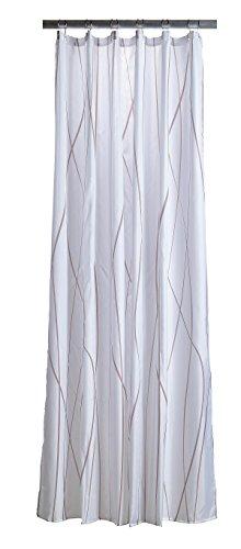 Unbekannt Zone Denmark 381111 Polyester Duschvorhang Nude weiß 200 x 180 cm