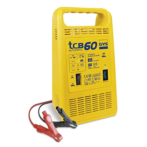 GYS TCB 60 - Cargador de baterías (12 V, 15-60 Ah)