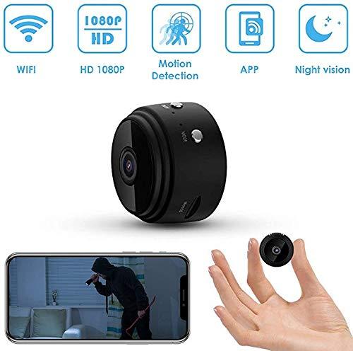 Mini verborgen spionagecamera 1080P HD Wireless Home Security Camera Spionage WiFi Video Recorder voor binnen en buiten met nachtzicht en bewegingsdetectie