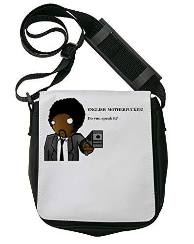 Pulp Fiction English Motherfcker Bolso Bandolera Riñonera De Hombro Unisex Shoulder Bag