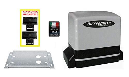 Motor Puerta corredera 230 V 600 kg sin Central Compatible Genius Milord: Amazon.es: Bricolaje y herramientas