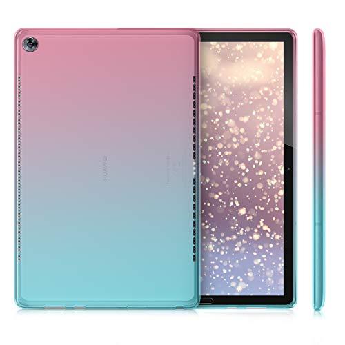 kwmobile Huawei MediaPad M5 10 / M5 10 (Pro) Hülle - Silikon Tablet Cover Case Schutzhülle für Huawei MediaPad M5 10 / M5 10 (Pro) - 4