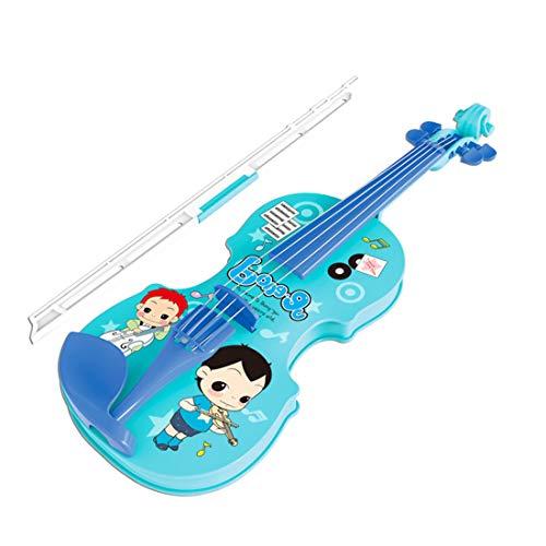 TETAKE Geige Kinder, Spielbar Kindergeige Spielzeug, Spielzeugvioline Anfänger, Kinder Violine Spielzeug Geschenk