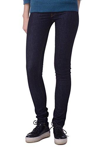 Diesel Livier 0823A Stretch Damen Jeans Hose Slim Jegging (W24, Dunkelblau)