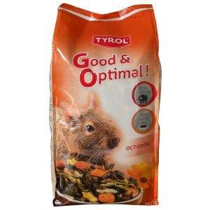 Tyrol - Mix Menu Complet Premium Octodon - Mélange Varié Vitamines/Antioxydant