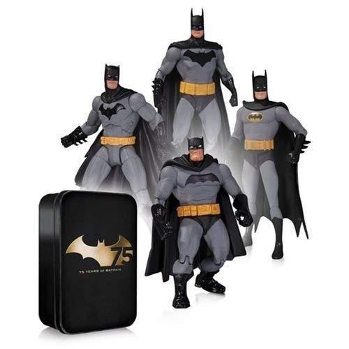 Diamond Comic Distributors Batman 75th Anniversary Action Figure 4 Pack Set 2