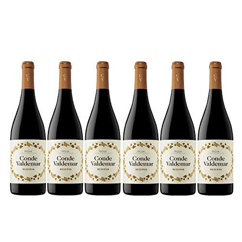 Conde Valdemar Reserva Rioja DOCa Rotwein veganer Wein trocken Spanien (6 Flaschen)