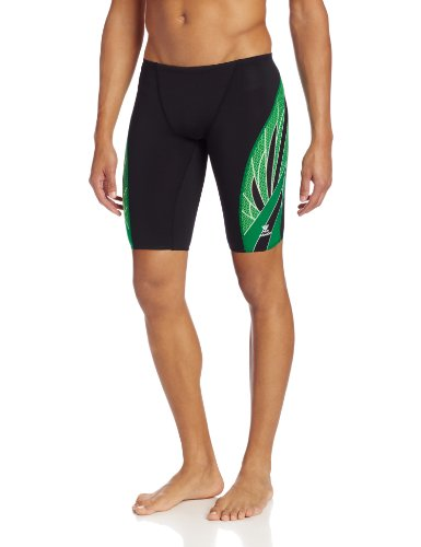 TYR SPX7A1430 Phoenix Splice Male Jammer Black/Green 30
