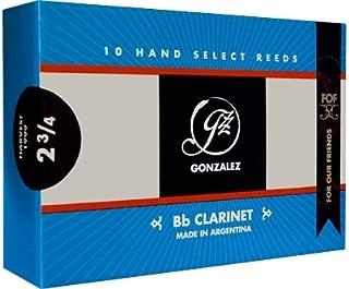 Gonzalez F.O.F Bb Clarinet Reeds Strength 3.25