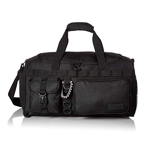 Fitdom Small Gym Duffle Bag With Shoe Compartment. Best for Workout & Basketball