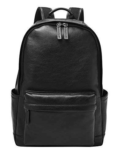 Fossil - Buckner Backpack Black Eco Leather for Men MBG9518001