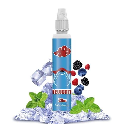 NINDO | Aroma Scomposto Fresco Ice 20ml NEWGATE | Mix di frutta e freschissimo ghiaccio! | 100% Made in Italy | Flacone da 50ml con Sistema Salva Goccia | Aroma Puro da Diluire