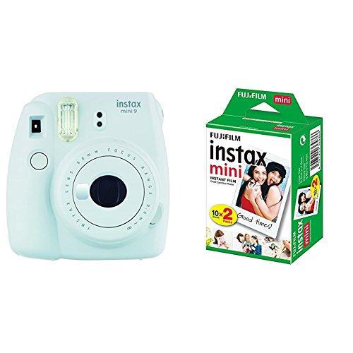 bon comparatif Fujifilm – Instax Mini 9 – 1 ensemble d'appareil photo instantané avec monofilm – Blanc et… un avis de 2021