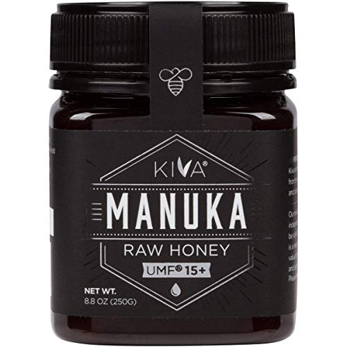 Kiva Raw Manuka Honey, Certified UMF 15+ (MGO 514+) - New Zealand (8.8 oz)