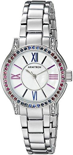 Armitron 75/5371MPSVBL - Reloj de pulsera para mujer con cristales Swarovski multicolor