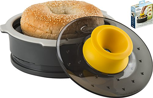 Trudeau Bagel Slicing Guide with Adjustable Thickness