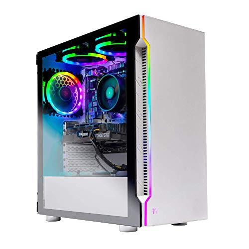 Skytech Archangel Gaming Computer PC Desktop – RYZEN 5 2600 6-Core 3.4 GHz, GTX 1660 6G, 500GB SSD, 16GB DDR4 3000MHz, RGB Fans, Windows 10 Home (Renewed)