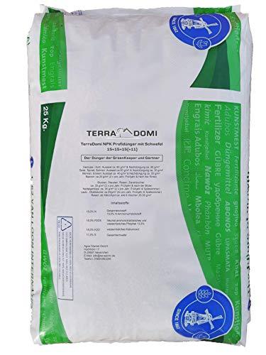NPK Volldünger 15 - 15 - 15 25 kg Weidedünger Rasendünger Universaldünger Blühpflanzen Grunddünger für alle Pflanzen