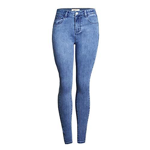 Jeans de Mujeres, Azul Claro, Caderas, Mediados de Cintura, Sexy Callos Secundarios,...