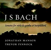 Johann Sebastian Bach: Viola da Gamba Sonatas by Jonathan Manson (2006-07-11)