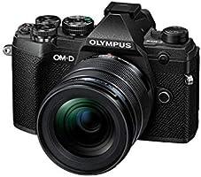 Olympus OM-D E-M5 Mark III Micro Four Thirds Systemkamera Kit, 20 MP sensor, 5-axlar bildstabilisator, kraftfull...