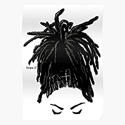 FONSEC Dreadlocks Natural Lives Series Locs Hair Black Lashes Hairstyles Matter The Best and Newest Poster for Wall Art Home Decor Room