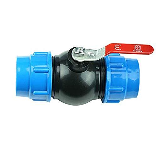 TF - Grifo de bola con conector de manguera y adaptador para tanques de agua de lluvia