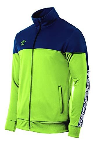 UMBRO Nyassa Trainingsjacke für Herren, Grün und Marineblau, M