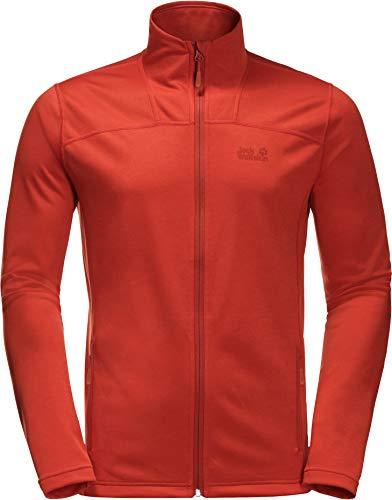 Jack Wolfskin Men's HORIZON JACKET M Athletic Shell Jackets lava red L