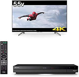 ソニー SONY 55V型 4Kチューナー内蔵 液晶 テレビ KJ-55X8550G + ソニー SONY 4Kチューナー内蔵 ブルーレイレコーダー 1TB 3チューナー BDZ-FBT1000