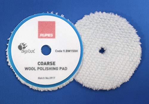 Lot de 2 Rupes Bigfoot bleues en Pads brut/Grossier 130/150 mm pour Mille lk900