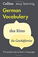 Easy Learning German Vocabulary: Trusted Support for Learning (Collins Easy Learning)
