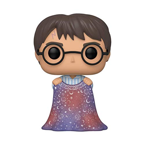 Funko Pop! Harry Potter: Harry Potter - Harry w/Invisibility Cloak, Multicolor, Estandar