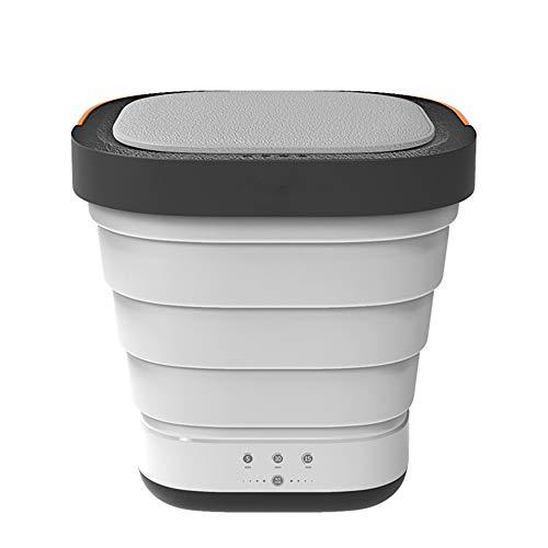N / A Lavadora Plegable, deshidratación con un Solo botón, Potente Ventosa, botón táctil a Prueba de Agua, Tubo de Drenaje Inferior, Adecuado para Llevar en casa y al Aire Libre