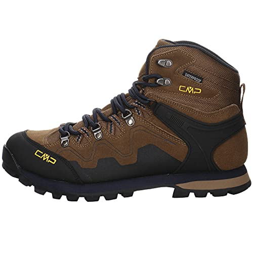 CMP Zapatillas de Trekking Unisex Athunis Mid WP, Color, Talla 45 EU Weit