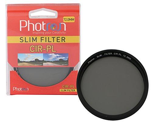 Photron 72.0mm Slim CIR-PL Circular Polarizer Lens Filter (Black)