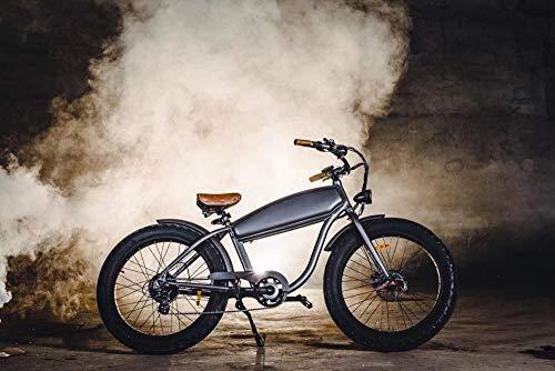 Wxlyy Retro Playa Nieve vehículo eléctrico neumático súper Ancho Bicicleta de montaña...