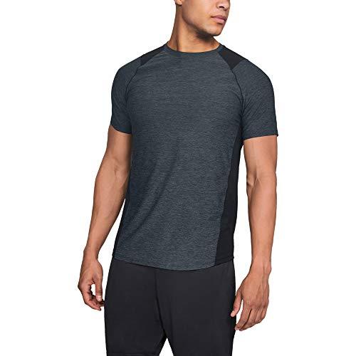 ドーム アンダーアーマー メンズスポーツウェア 半袖機能Tシャツ UA MK1 SS 1306428 002 メンズ BLK/SLG(002)