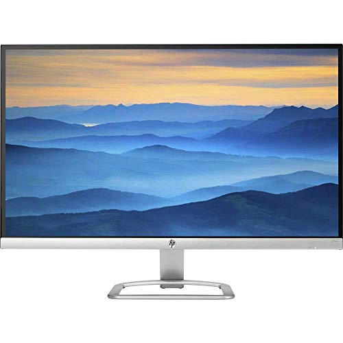 HP 27er T3M88AA#ABA 27-inch IPS LED Backlit 16:9 (1920 x 1080) Full HD Monitor (1xVGA, 2xHDMI Input) with HDMI Cable