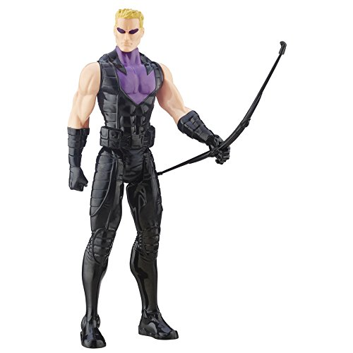Avengers Marvels Titan Hero Series Hawkeye Action Figure, 12-Inch