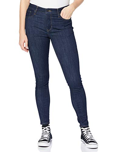 Levi's 720 Hirise Super Skinny Jeans, Deep Serenity, 26W / 32L para Mujer