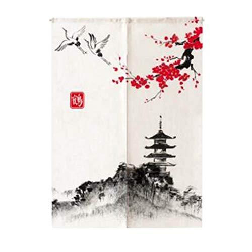 Wukong Paradise Puerta de Estilo japonés Entrada de tapices Restaurante de Sushi Inicio Cortina Noren-A16