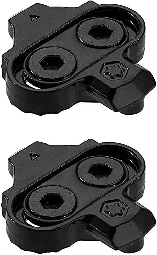 PRO BIKE TOOL Ersatz-Fahrradklampen ohne Cleat Plates – Kompatibel mit Shimano MTB SPD Pedalen (SH51) für Herren & Damen Mountainbike Schuhe – Fahrrad Cleat Set für Mountainbike & Indoor Cycling
