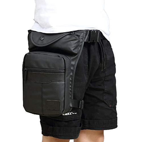 Hebetag - Bolsa de cintura para hombre y mujer, para deportes al aire libre de viaje, motocicleta, ciclismo, pesca, camping, senderismo, bolsa de bolsillo