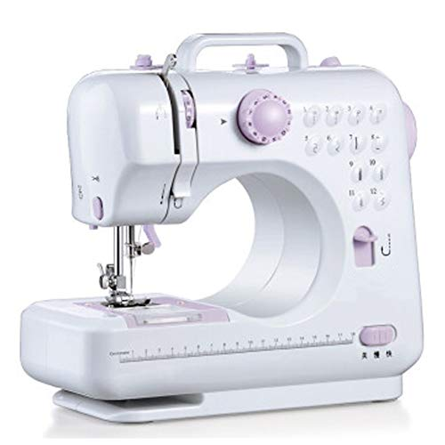 Fabric Sewing Machine Electric Lock Edge Multi-Function DIY Tool Portable Suitable for Various Fabrics, is The Best Gift for Children Ladies Craftsmen and Sisters