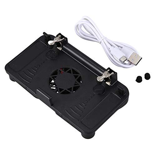 Basage Q01 BotóN del Controlador del Juego Caja del TeléFono MóVil Manija del Juego de Enfriamiento Modelos Enchufables