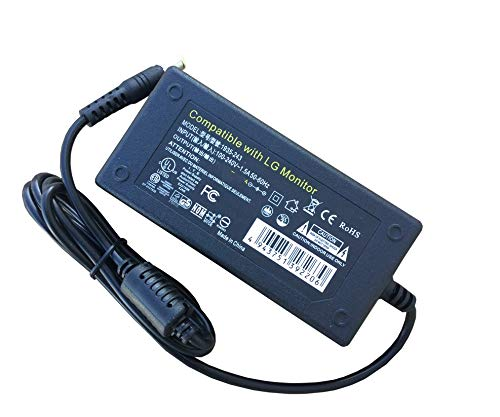 """AC DC Power Adapter for LG 34UC79G-B 34"""" UltraWide Curved Gaming Monitor 34UC79, 34UC79GB"""