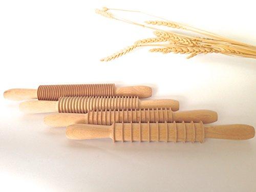 Kit 4 Mattarelli Taglia pasta in faggio. Cod. KIT/MATTARELLI