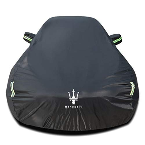 Whitejianpeak Car Cover Compatible with Maserati Ghibli/GranTurismo/GT Convertible, All Weather Full Covers for Automobiles Waterproof Windproof Outdoor Indoor Breathable Basic Covers with Storage Bag