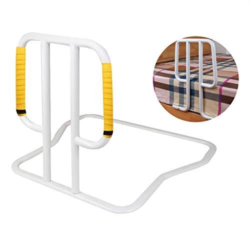 QDY-Bedside Handrails Reposabrazos Lateral para Cama de Hospital, para Embarazadas y Mujeres, mesita de Noche, barandilla, apoyabrazos con Alfombrilla Antideslizante, para levantarse